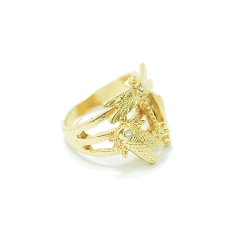 INSECTS WITH CRYSTAL RING - product image
