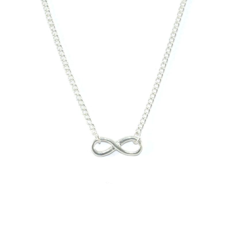 INFINITY CHARM NECKLACE - product image