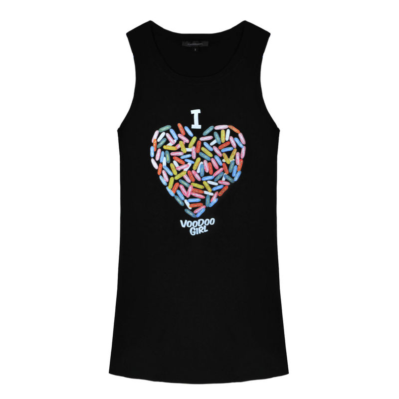 I LOVE VOODOO GIRL VEST - product image