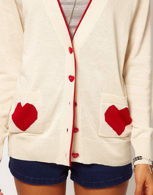 I HEART CARDIGAN - product image