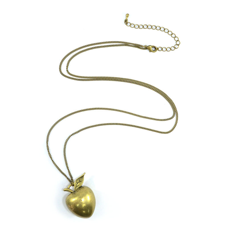 HEART SHAPE APPLE NECKLACE - product image