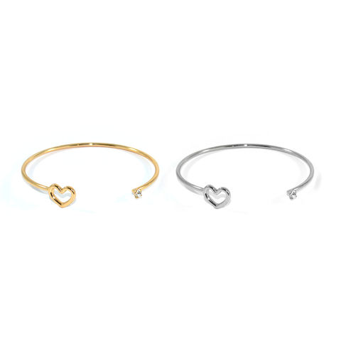HEART,AND,CRYSTAL,BANGLE
