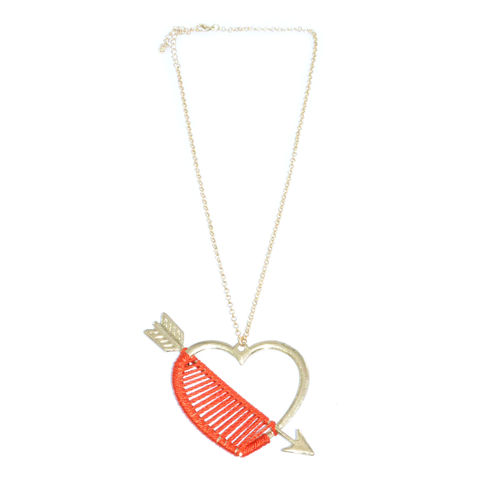 HEART,AND,ARROW,NECKLACE