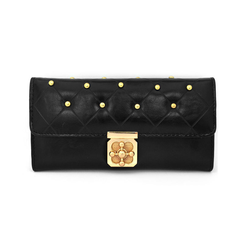 GOLD STUD CLUTCH BAG - product image