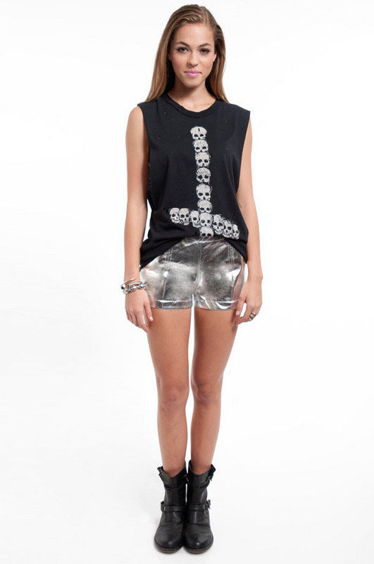 GO METALLIC SHORTS - product image