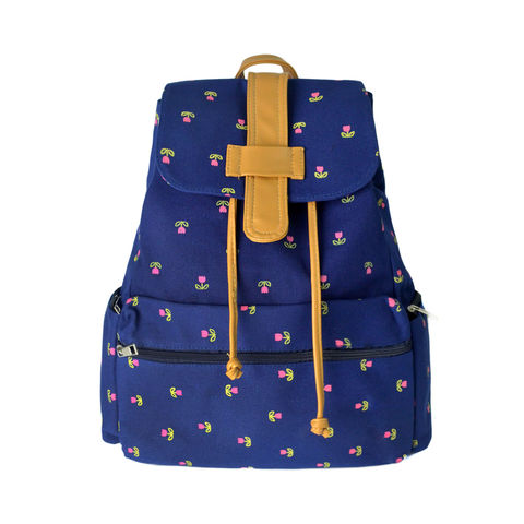 FLOWER,PATTERN,BACKPACK,FLOWER BAG,FLORAL BACKPACK, BLUE FLOWER BAG, BLUE FLOWERS BACKPACK, FLOWER BACKPACK, BLUE FLOWER PATTERN BAG, FLOWER PATTERN BLUE BAG