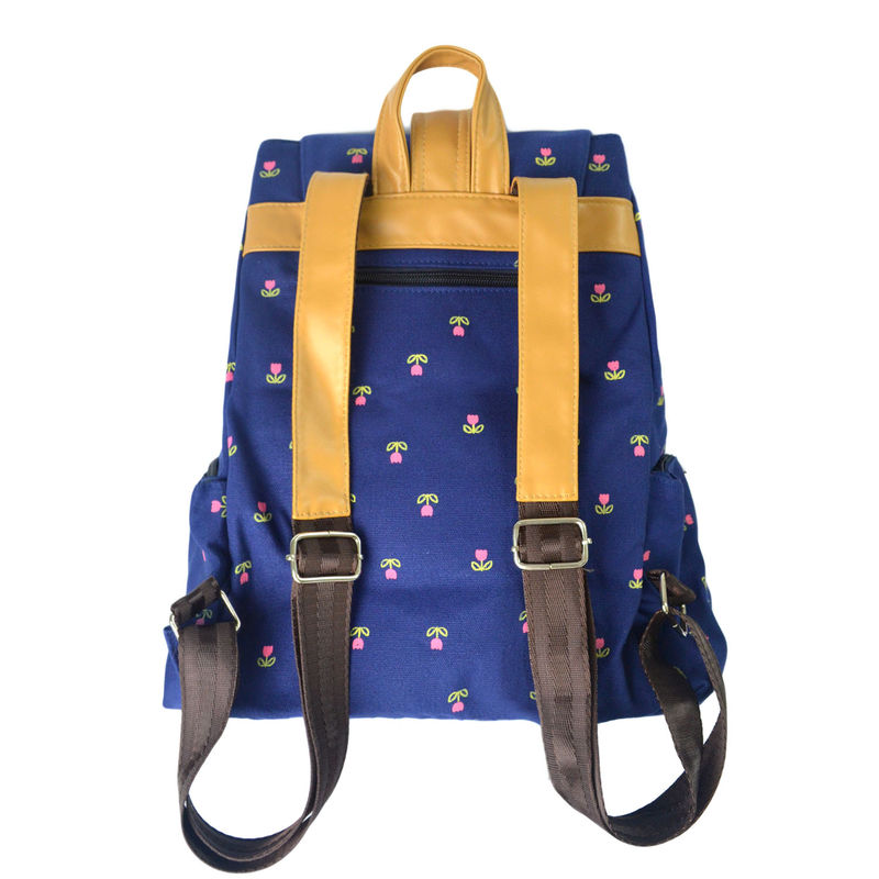 FLOWER PATTERN BACKPACK - product image
