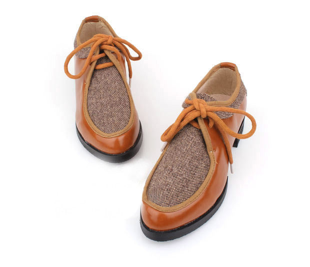 FELT FLAT SHOES - product image