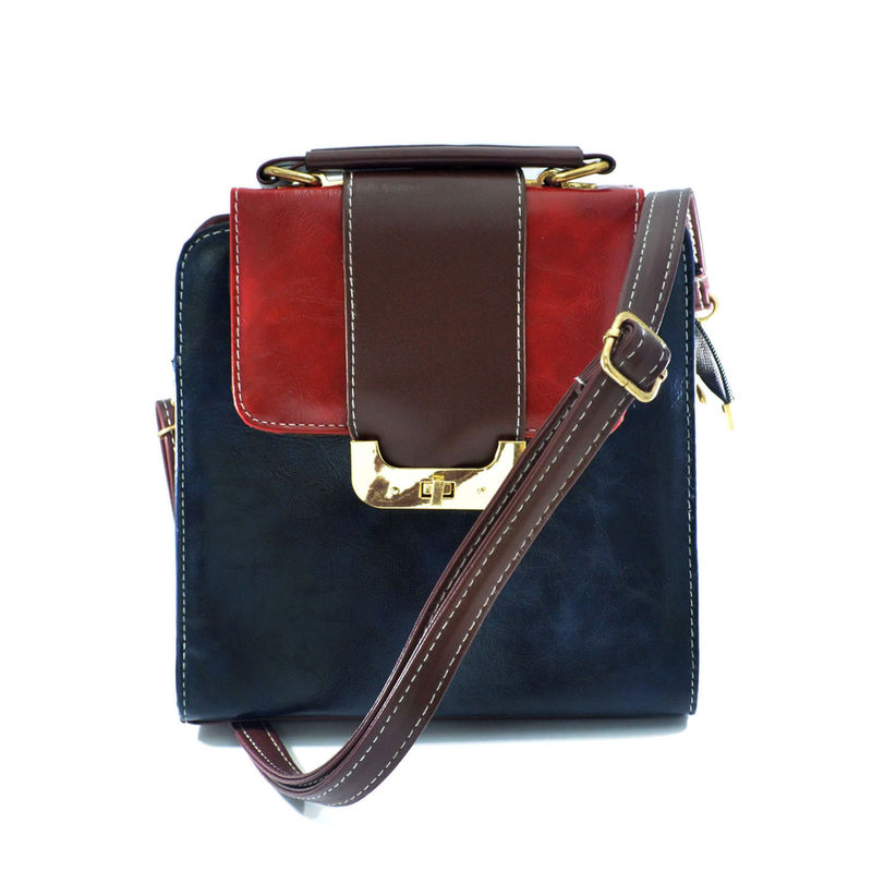 FAUX LEATHER TWO WAY BAG - product image