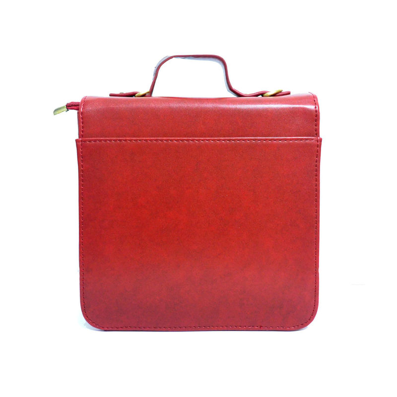 FAUX LEATHER SHOULDER BAG - product image