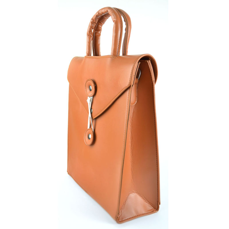 FAUX LEATHER ENVELOPE BAG - product image