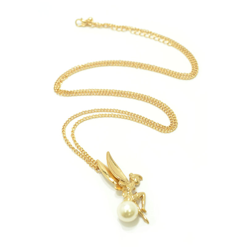 FAIRY WITH PEARL NECKLACE - product image