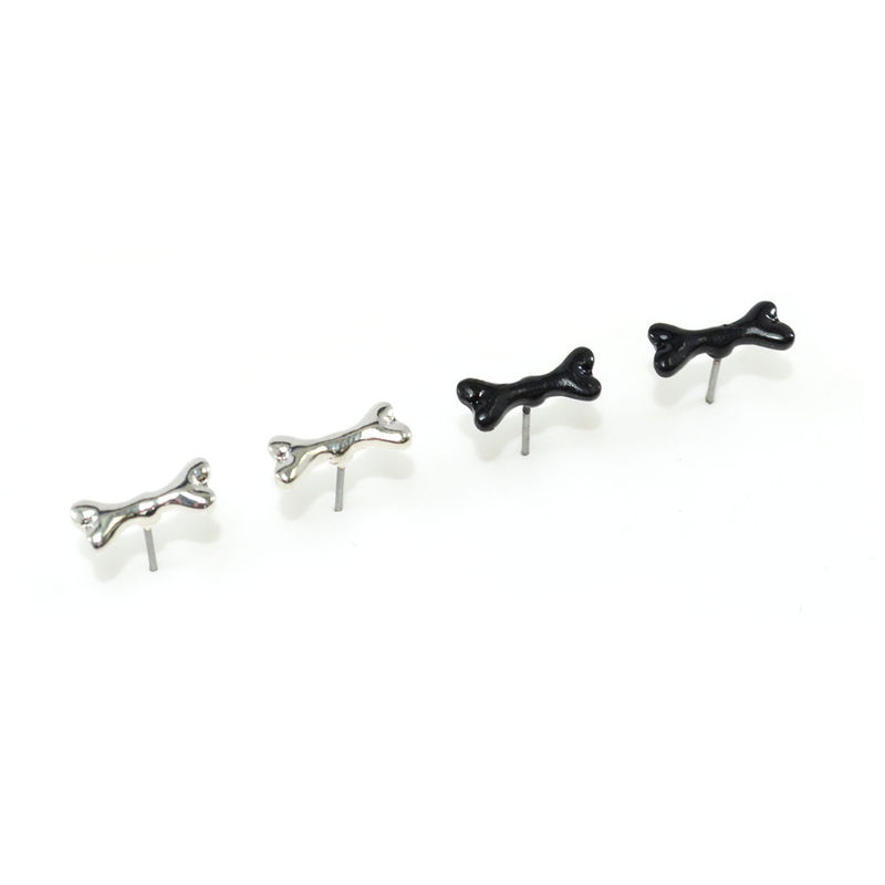 DOG BONE EARRINGS - product image