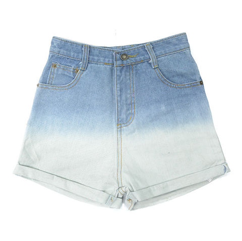 DIP,DYE,DENIM,SHORTS