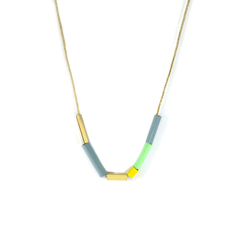CUBIC TUBE NECKLACE - product image