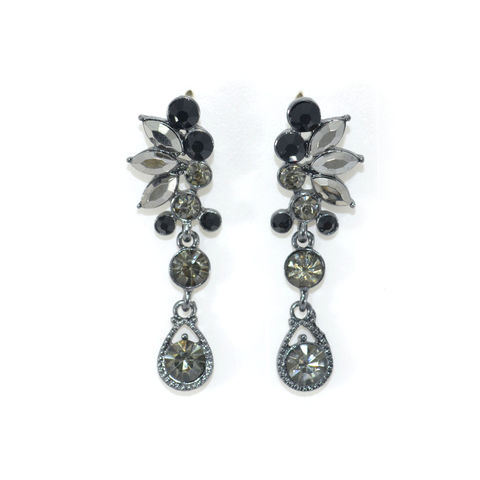 CRYSTALS,DANGLING,EARRINGS