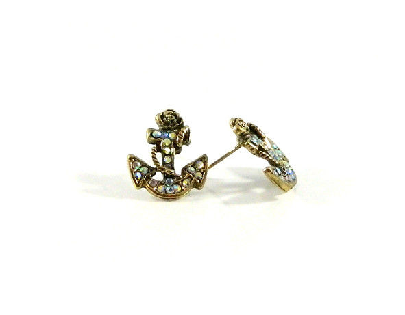 CRYSTAL MARINE EARRING - product image