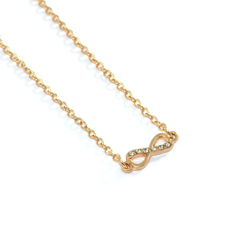 CRYSTAL INFINITY NECKLACE - product image