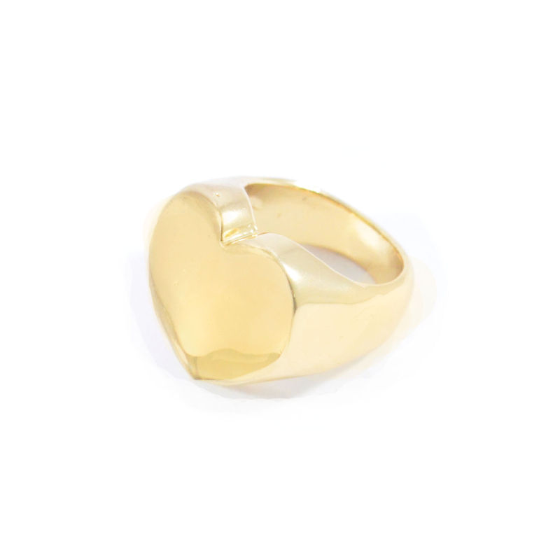 SHINY HEART RING - product image