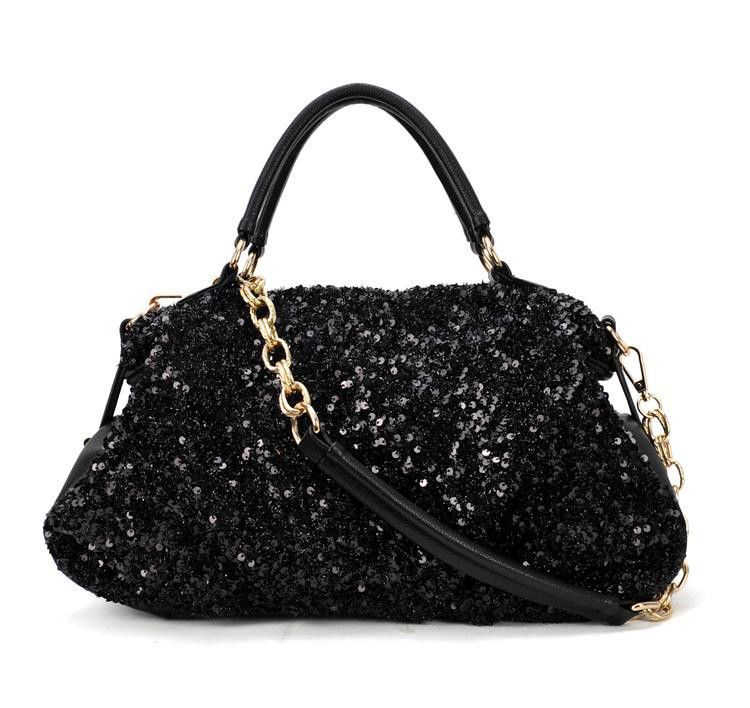 SEQUIN HANDBAG - product image