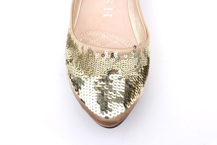 SEQUIN FLATS - product image