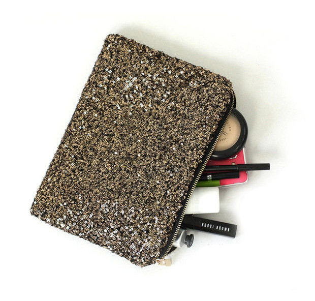 SEQUIN CLUTCH BAG - product image