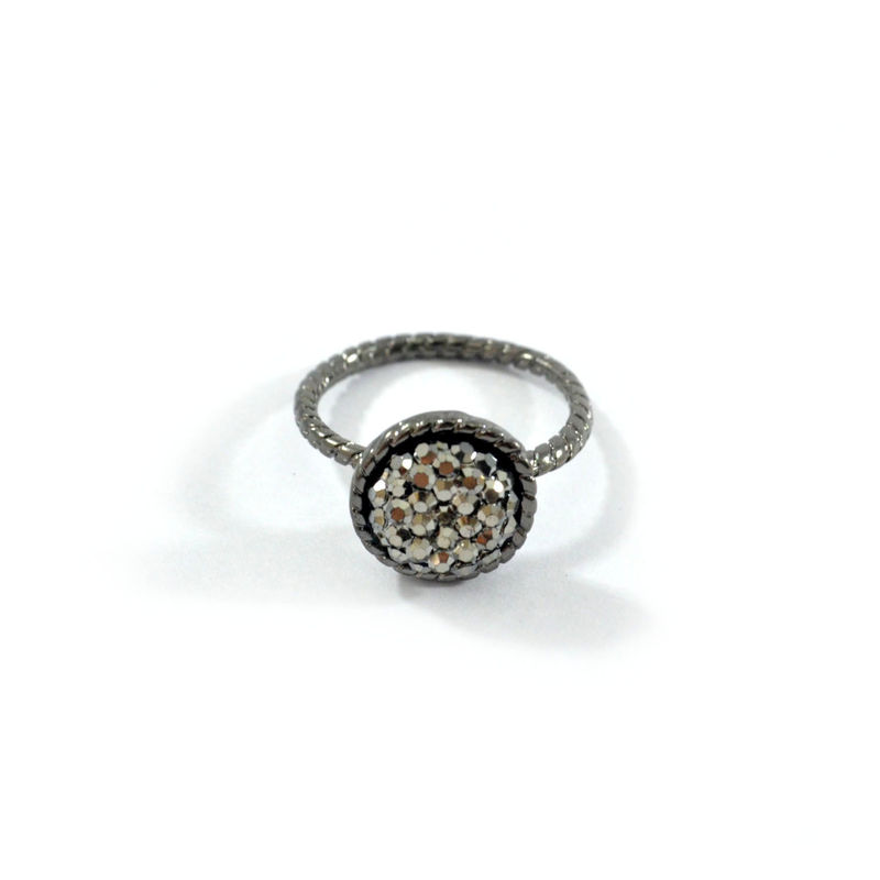 ROUND CRYSTALS RING - product image