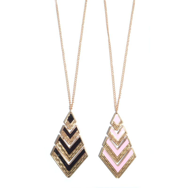 RHOMBUS LAYER NECKLACE - product image