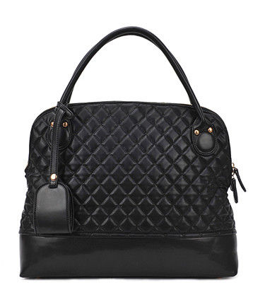 QUILTED SATCHEL BAG - product image