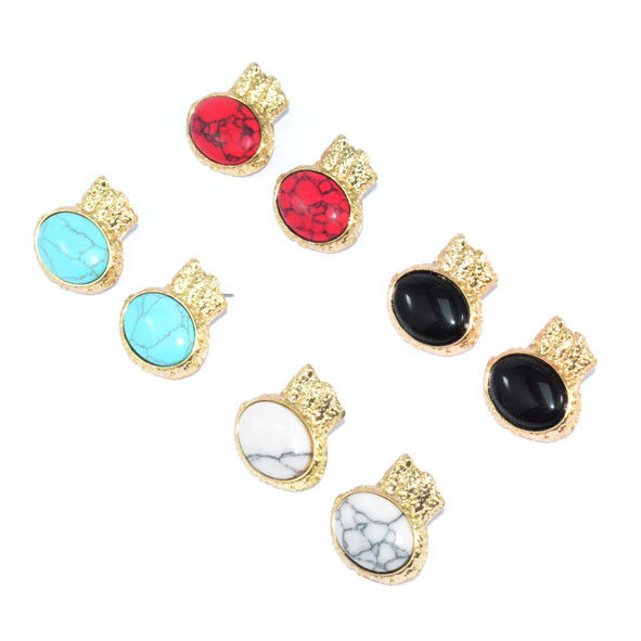 PRECIOUS STONE EARRINGS - product image