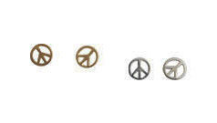 PEACE,SIGN,EARRING
