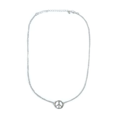 PEACE,PENDANT,NECKLACE