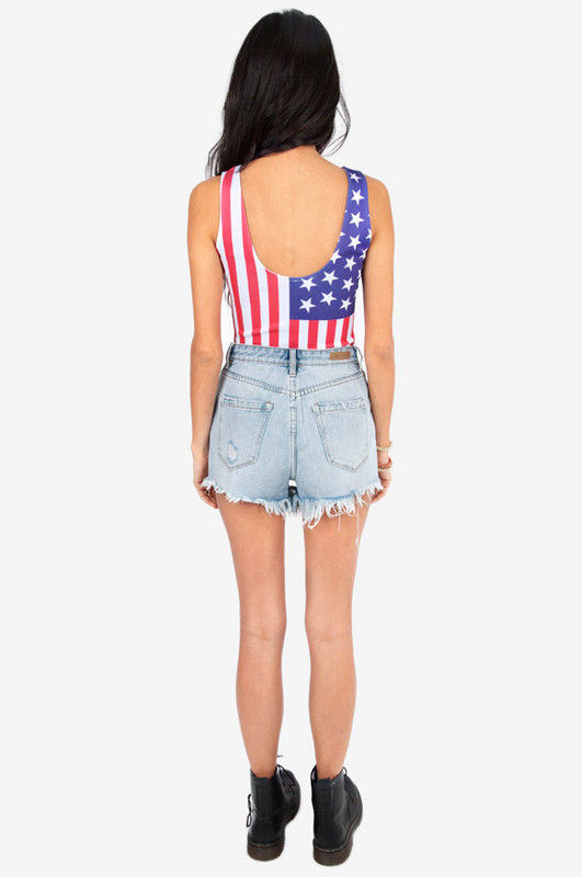 PATRIOT STAR BODYSUIT - product image