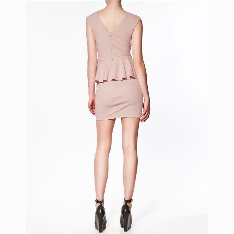 PATEL PEPLUM DRESS - product image
