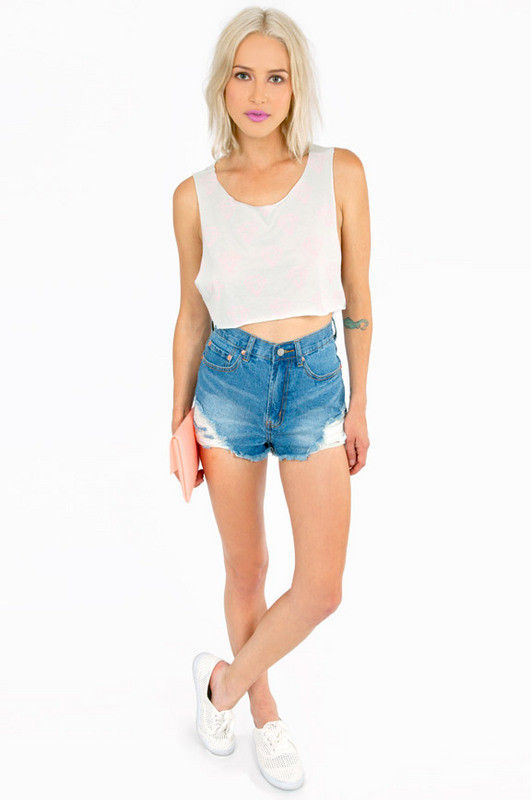 PASTEL DIAMOND CROP TOP - product image