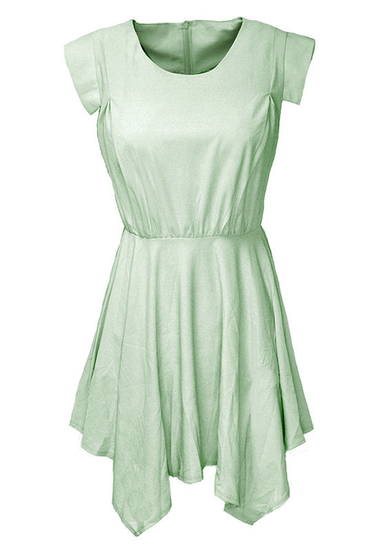 PASTEL CHIFFON DRESS - product image