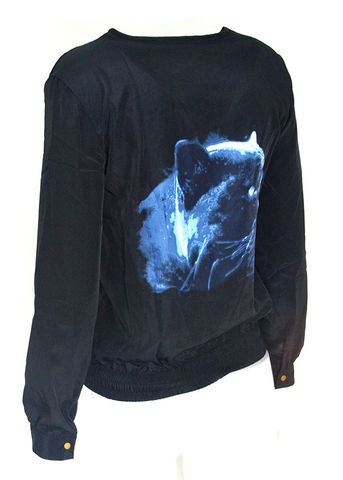 PANTHER,BACK,BOMBER,JACKET