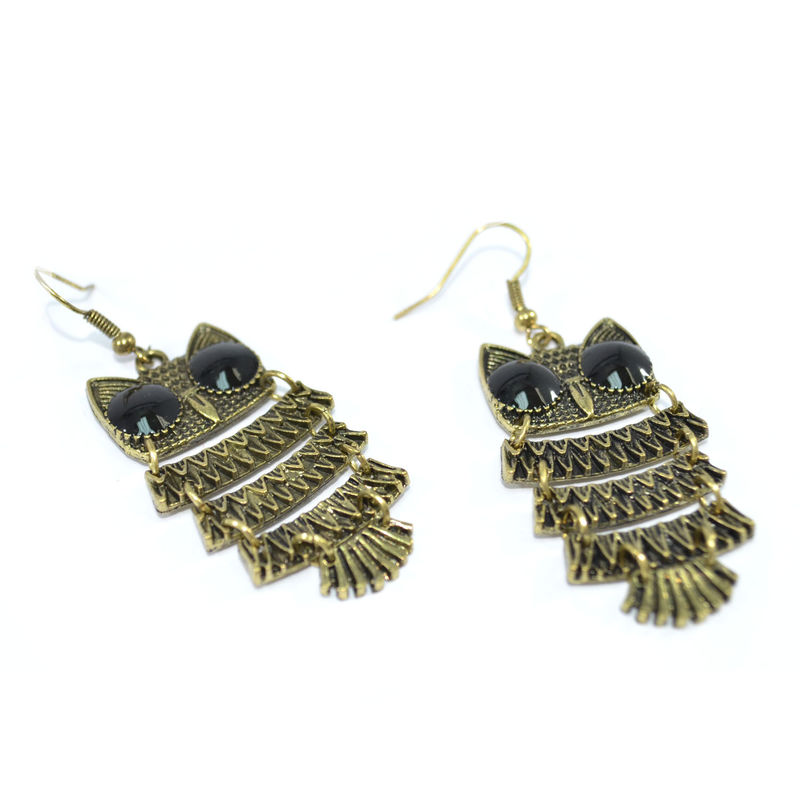 OWL EARRINGS - product image