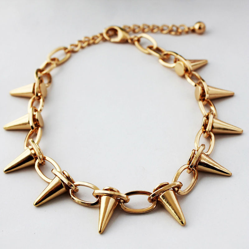 MULTI SPIKE NECKLACE - product image