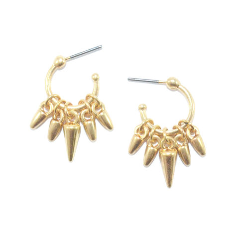 MULTI,SPIKE,DROP,EARRINGS