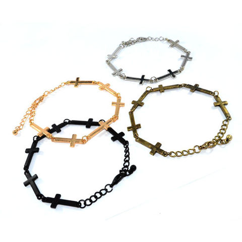 MULTI,MINI,CROSS,BRACELET