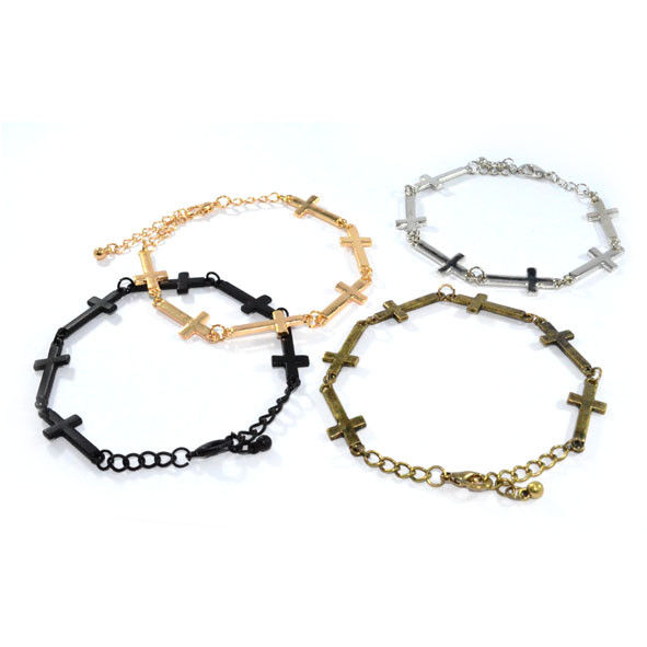 MULTI MINI CROSS BRACELET - product image