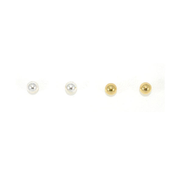 MINIMAL SPHERE EARRINGS - product image