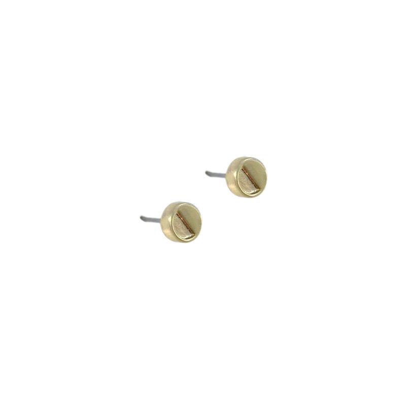 MINIMAL SEMI CIRCLE EARRINGS - product image