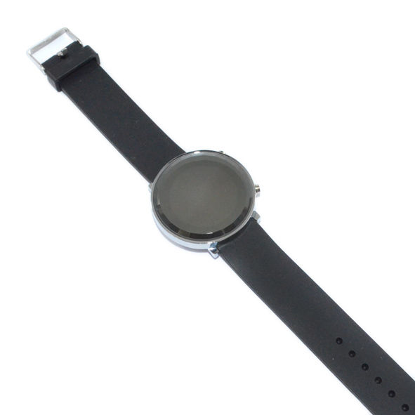 MINIMAL ROUND WATCH - BLACK - product image