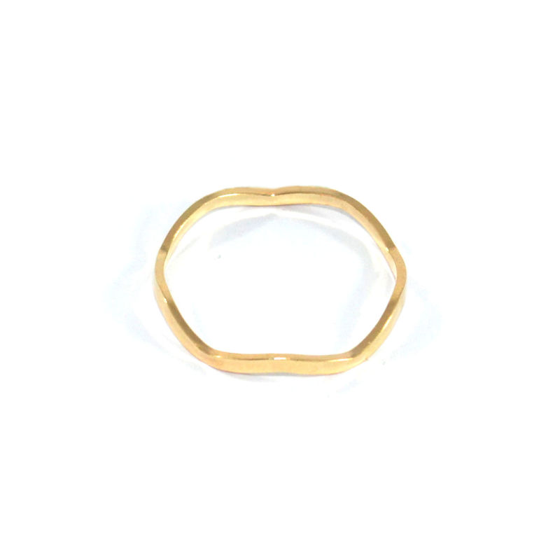 MINIMAL CURVED RING - product image