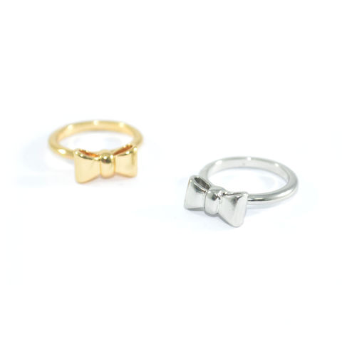 MINIMAL,BOW,RING,mini bow ring, minimal bow ring, small bow ring, rings and things