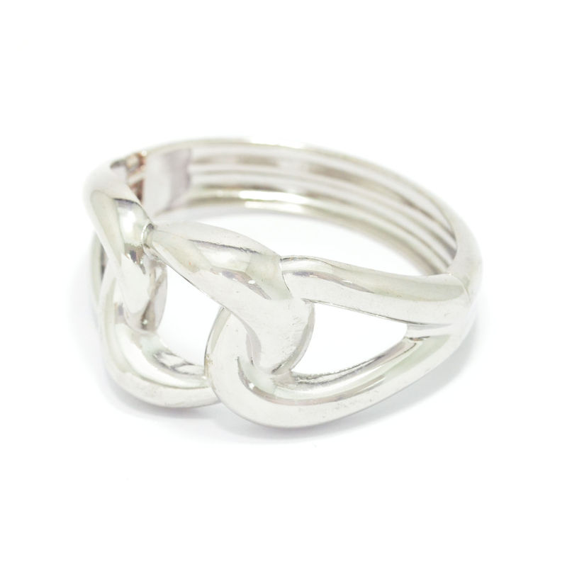 METALLIC TWISTED CURB CHAIN BRACELET - product image
