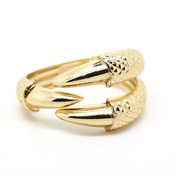 METALLIC ANIMAL CLAW BANGLE - product image