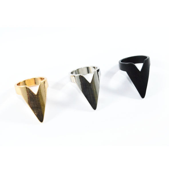 METAL ARROW RING - product image